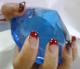 Uñas de gel en Academia Desiree